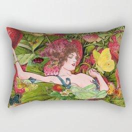 Strawberry Fields Forever Rectangular Pillow