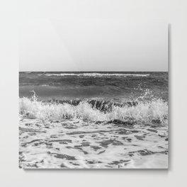 BEACH DAYS XXI BW Metal Print
