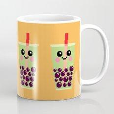 Happy Pixel Bubble Tea Mug