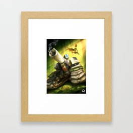 over bastion Framed Art Print