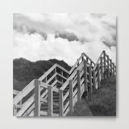 Neither up or Down  Metal Print