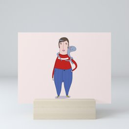 Salty men of the sea #3 Mini Art Print