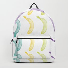 colored babanas Backpack