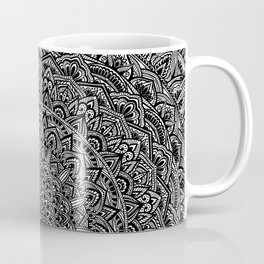 Zen Black and white Mandala Coffee Mug