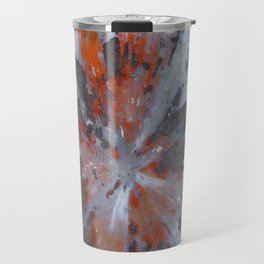 Cady Mountain Aragonite Pseudomorph (Sagenite) Travel Mug