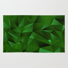 Rough Gems ~ Emerald Rug