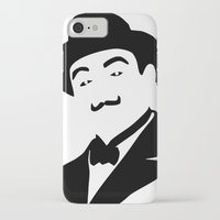 hercules iPhone & iPod Cases featuring Hercules Poirot by b & c