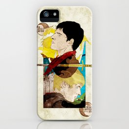The King and His Sorceror iPhone Case
