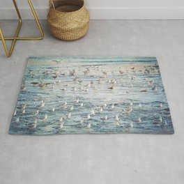 The Gangs All Here Seascape Rug