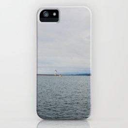 Harbor, Grand Marais, Minnesota 3 iPhone Case
