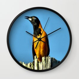 Melody Of Freedom Wall Clock