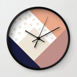 Cult Living Scandinavian Abstract Dot Cushion #society6 #decor #buyart #artprint Wall Clock