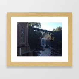 The Paterson Falls Framed Art Print