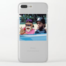Ice Cube x Master Roshi Clear iPhone Case