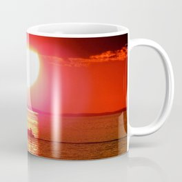 Sailboat Holds the Sun Coffee Mug