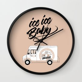 Icecream Truck – Ice Ice Baby Wall Clock
