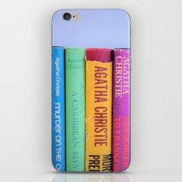 Row of Colorful Vintage Agatha's iPhone Skin