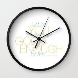 Good Enough Wall Clock
