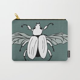 It's a beetle and it has wings. Carry-All Pouch