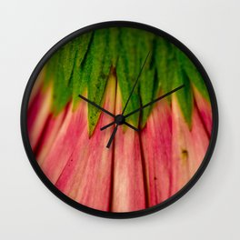 Petals of Pink Wall Clock