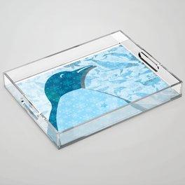 Penguin: Love Acrylic Tray
