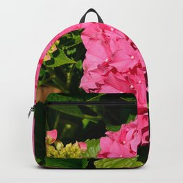 Pink Hydrangea by Teresa Thompson Backpack