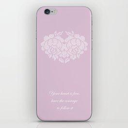 roses heart iPhone Skin