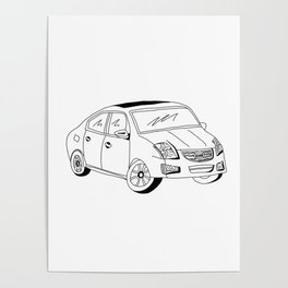 My Friends' Cars - Sentra Poster