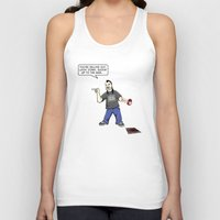 tool Tank Tops featuring Tool Hooker by D-fens