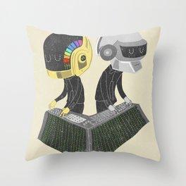 DaftPunk Throw Pillow