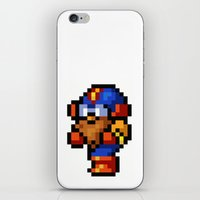 final fantasy iPhone & iPod Skins featuring Final Fantasy II - Cid by Nerd Stuff