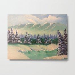 Snow Dream II Metal Print
