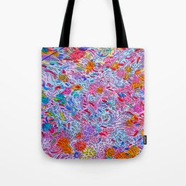 Fleshy Pattern Tote Bag