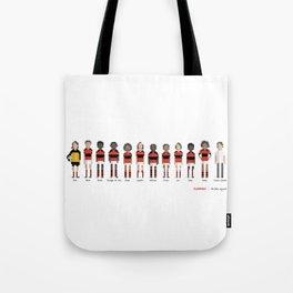 Flamengo - All-time squad Tote Bag