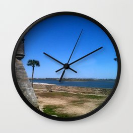 St. Augustine 2012 The MUSEUM Zazzle Gifts - Society6 Wall Clock