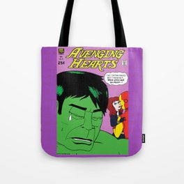 Avenging Hearts Tote Bag