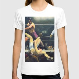Classical Masterpiece 'Dempsey and Firpo' by George Bellows T-shirt