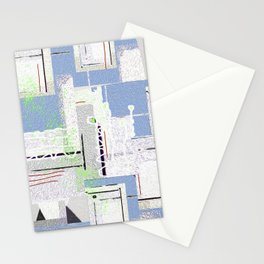 Chillin with the Muses Contemporary Abstract Stationery Cards