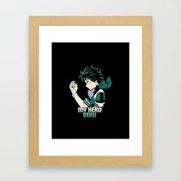 Gamma Deku Framed Art Print