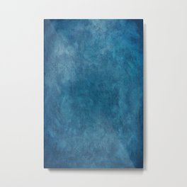 Photography Backdrop: Blue Metal Print