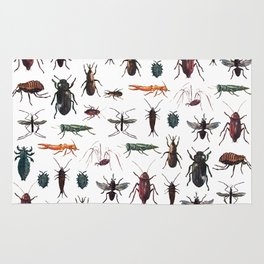 Insects Pattern Rug