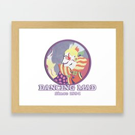 Dancing Mad Framed Art Print