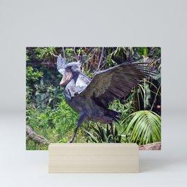 The Shoebill Mini Art Print