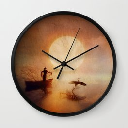 In Quiet Light Wall Clock