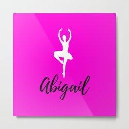Abigail - Dance Metal Print