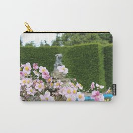 Flowers and Fountains Carry-All Pouch