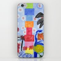 shoe iPhone & iPod Skins featuring Shoe Tree  by Heidi Capitaine