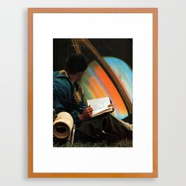 ...space Framed Art Print