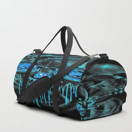 Winter Ice Skeletons Duffle Bag