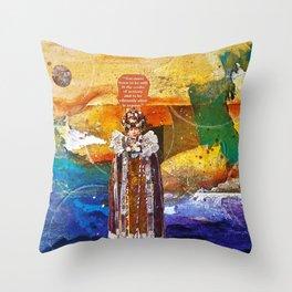 In Stillness, Lies Wisdom Throw Pillow